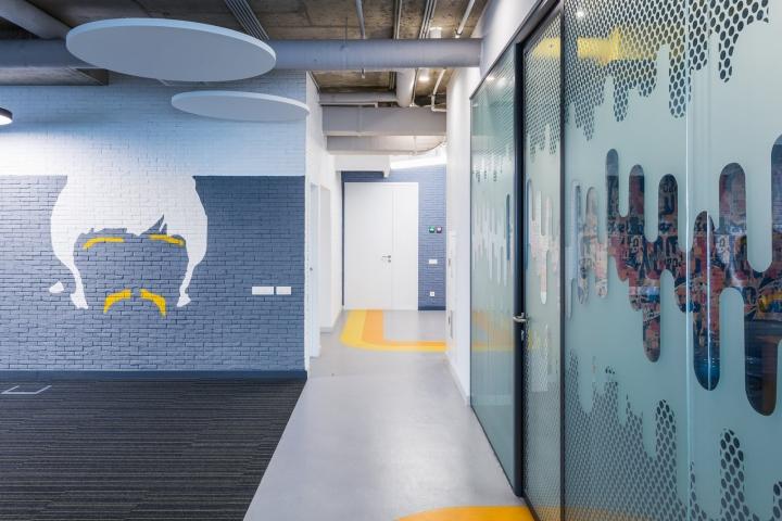 Креативные идеи для офиса – Оригинальная облицовки
