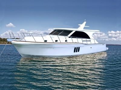 Проект современной круизной яхты Hudson Bay 50 sedan cruiser из Австралии