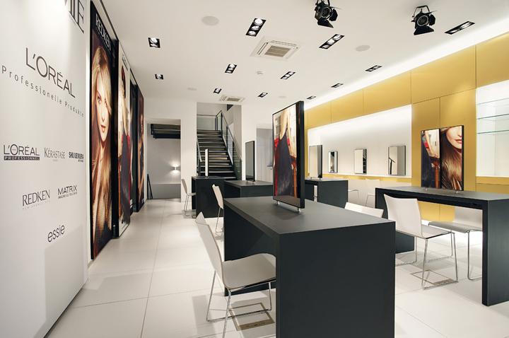 Учебный центр L'Oréal академии от Engels Architektur