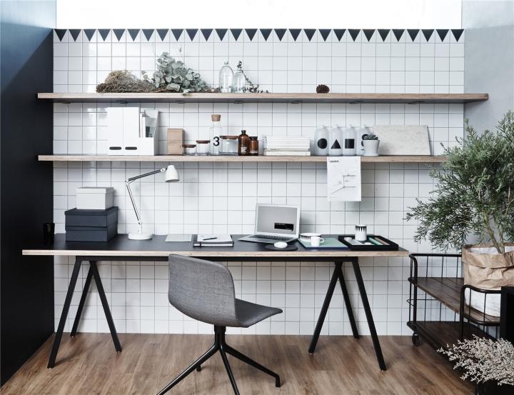 Лаконичный дизайн интерьера офиса в Шанхае - кухня в офисе