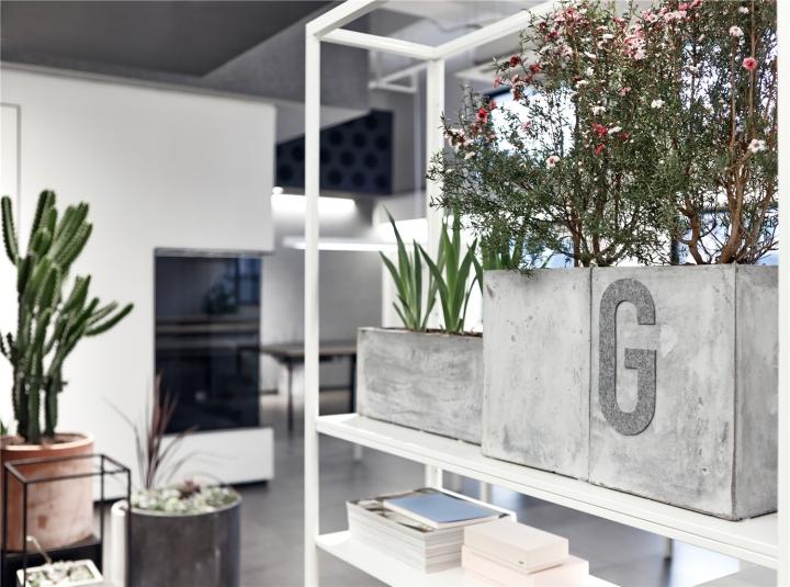 Лаконичный дизайн интерьера офиса в Шанхае. Фото 1