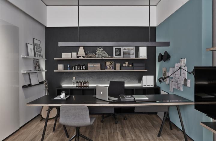 Лаконичный дизайн интерьера офиса в Шанхае. Фото 4