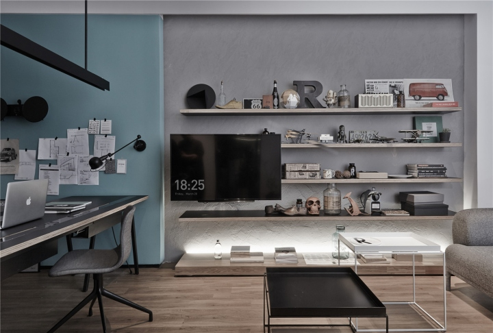 Лаконичный дизайн интерьера офиса в Шанхае. Фото 5