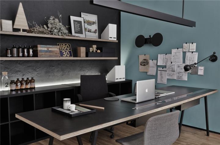 Лаконичный дизайн интерьера офиса в Шанхае. Фото 7