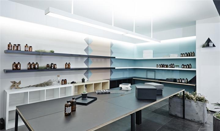 Лаконичный дизайн интерьера офиса в Шанхае. Фото 8