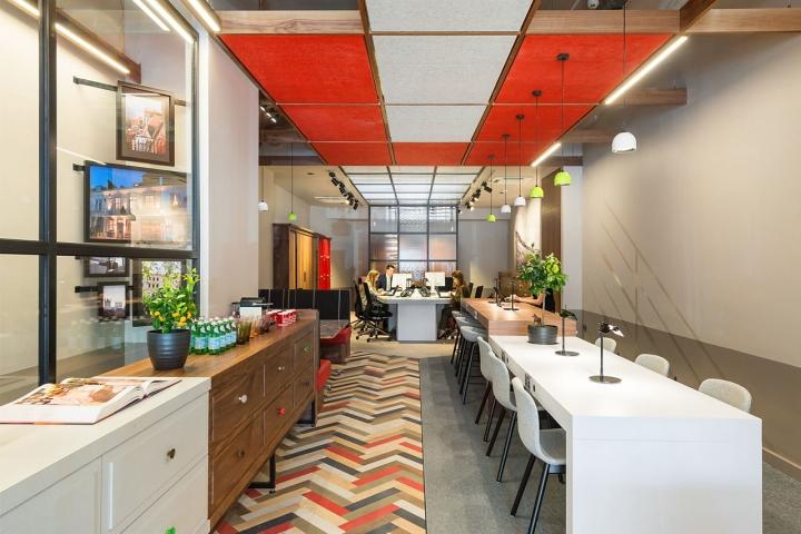 Лаконичный дизайн интерьера офиса в Лондоне, Англия