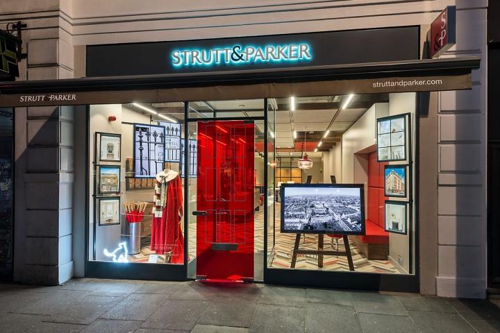 Лаконичный дизайн интерьера офиса в Лондоне, Англия: стильный офис