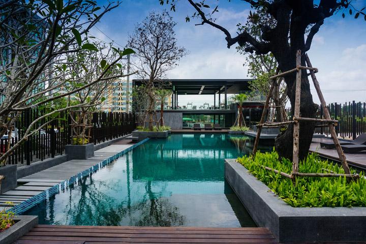 Резиденция спортивного клуба Landmark от MADA, Бангкок, Таиланд
