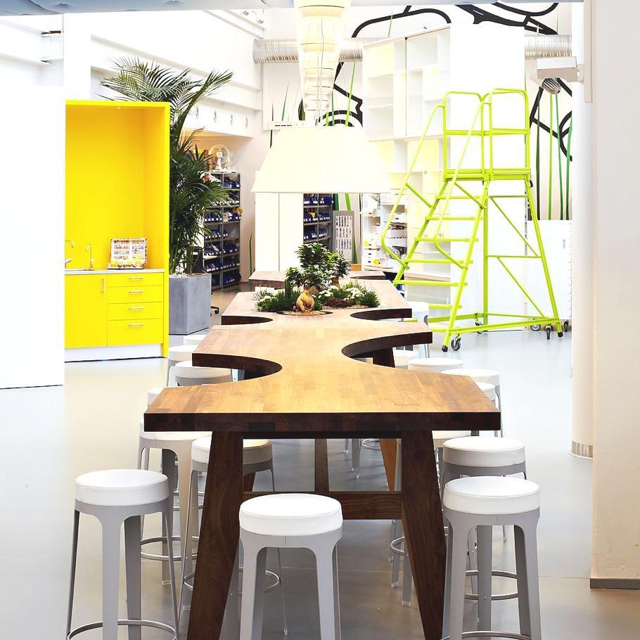 Офис отдела развития компании LEGO в Биллунд, Дания
