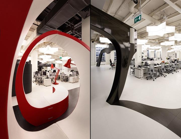 Необычная мебель в офисе