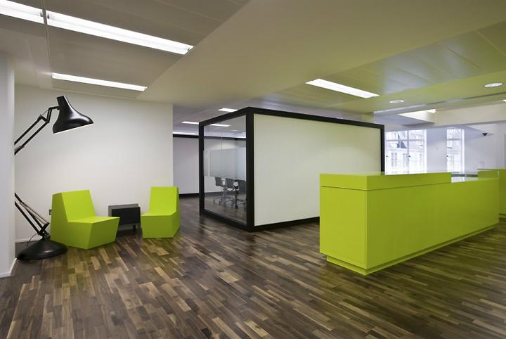 Дизайн офисного пространства компании-гиганта LG в Лондон, Великобритания