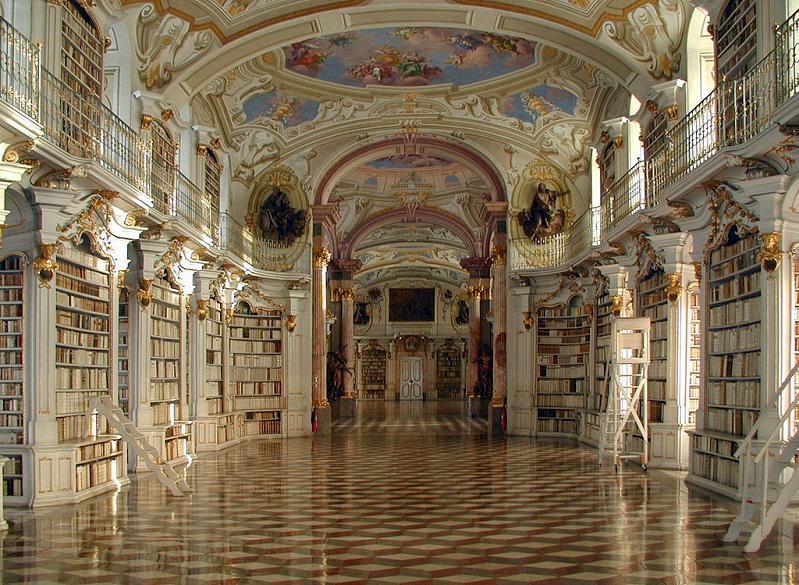 Библиотека Аббатства Admont,Австрия