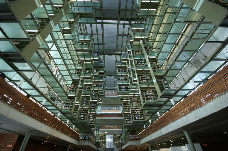 Библиотека José Vasconcelos, Мехико, Мексика