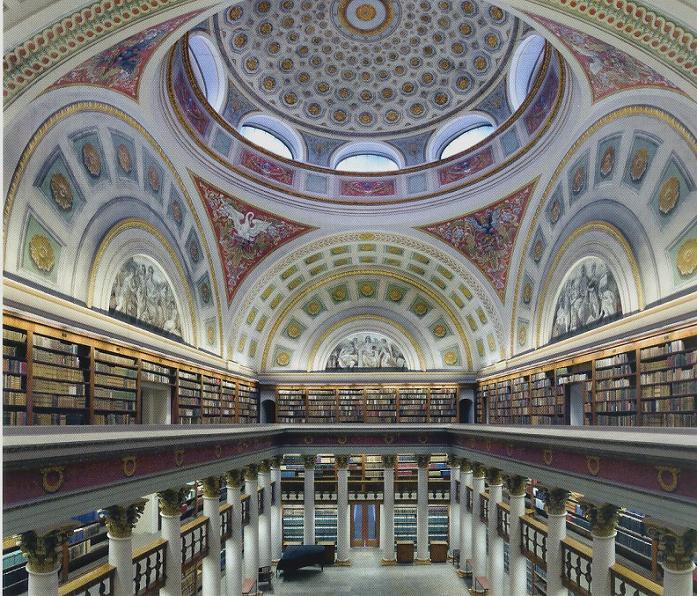 Национальная библиотека, Хельсинки, Финляндия