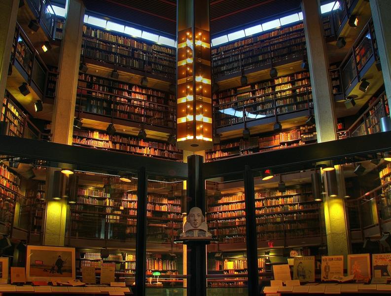 Университетская библиотека редких книг Томаса Фишера