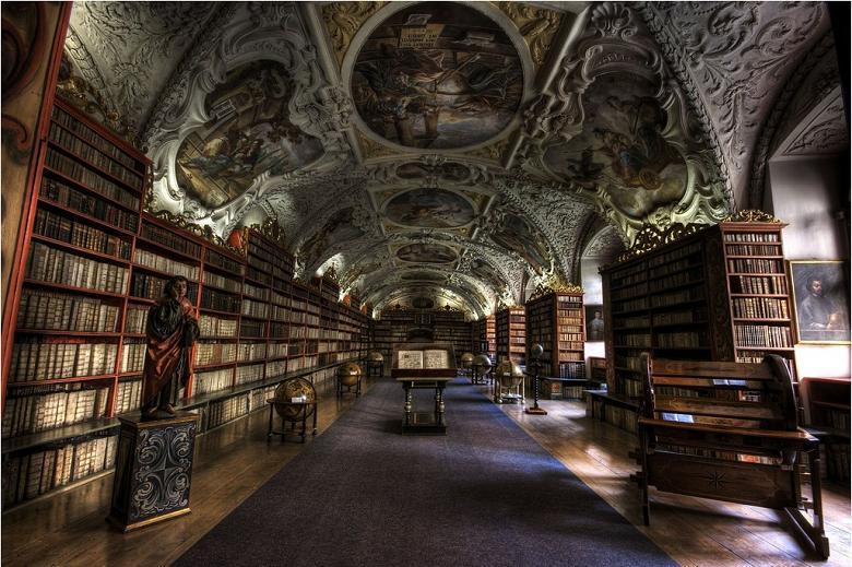 Страховский Богословский зал, Прага, Чешская Республика