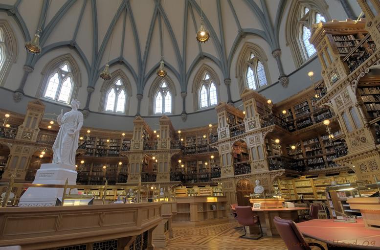 Канадская библиотека парламента