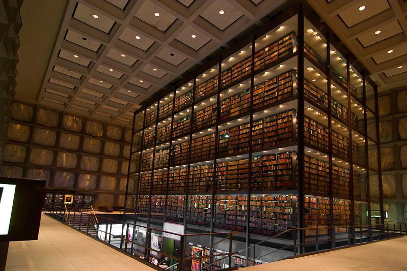 Библиотека редких книг и рукописей, Йельский университет, Коннектикут