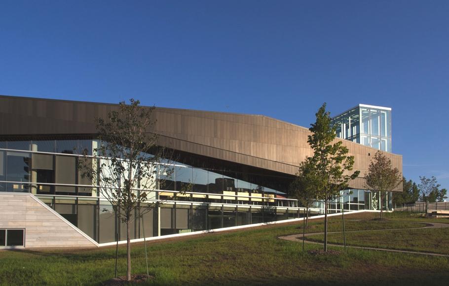 Архитектурный шедевр библиотеки от бюро Lemay