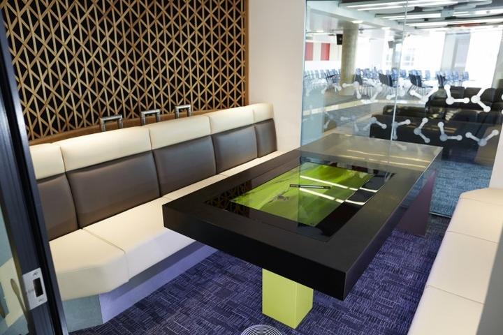 Мультимедиа-комната в штаб-квартире