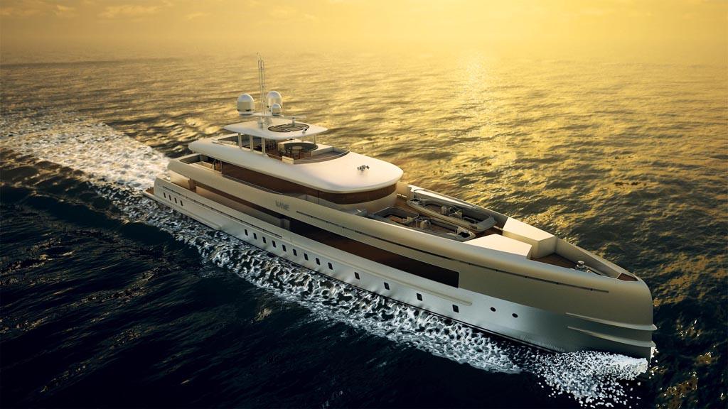 Алюминиевая лёгкая яхта YN 16750