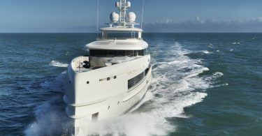 Маневренная и лёгкая яхта YN 16750 от Heesen Yachts