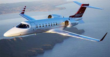 Лёгкий реактивный самолёт Learjet 45XR от Bombardier Aerospace