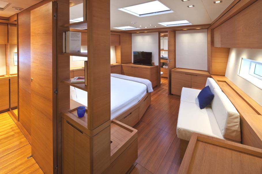 Итальянский стиль интерьера парусной яхты Thalima - фото 3