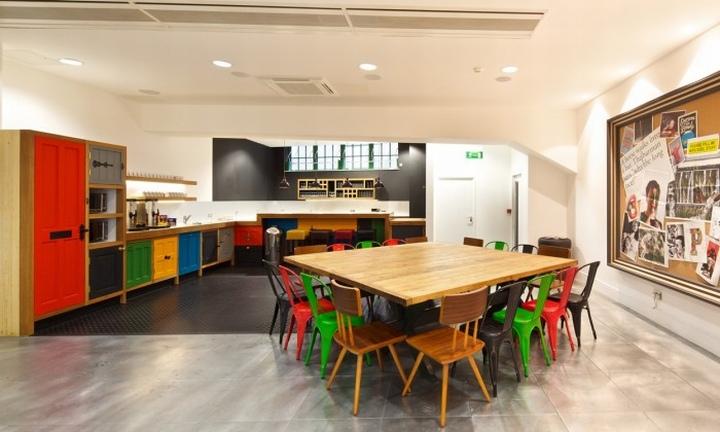 Офис McCann Erickson's от Office Principles, Лондон, Англия