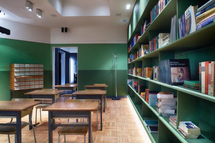 Академия модульной мебели Modular Academy Showroom в Руселаре, Бельгия