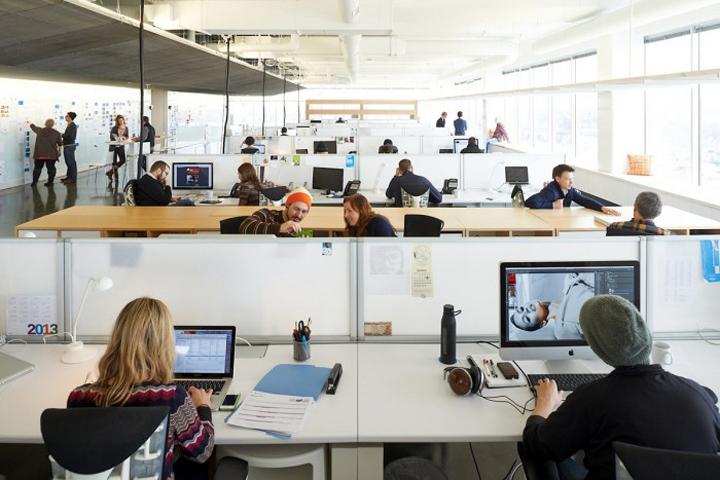 Офис Charlie Lazor & Alex Haecker компании mono, Minneapolis