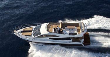 Моторная яхта Galeon 550 Fly от дизайнера Тони Кастро