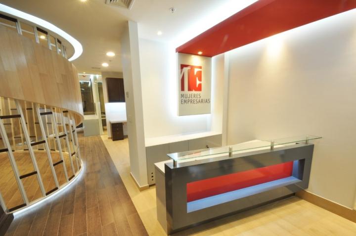 Штаб-квартира Mujeres Empresarias от студии Grupo