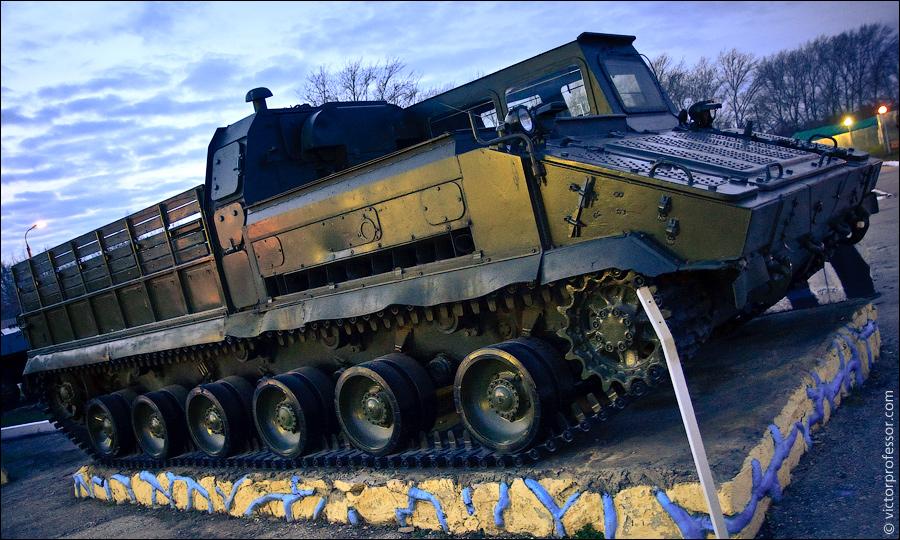 Музей военной техники фото гусеничной техники
