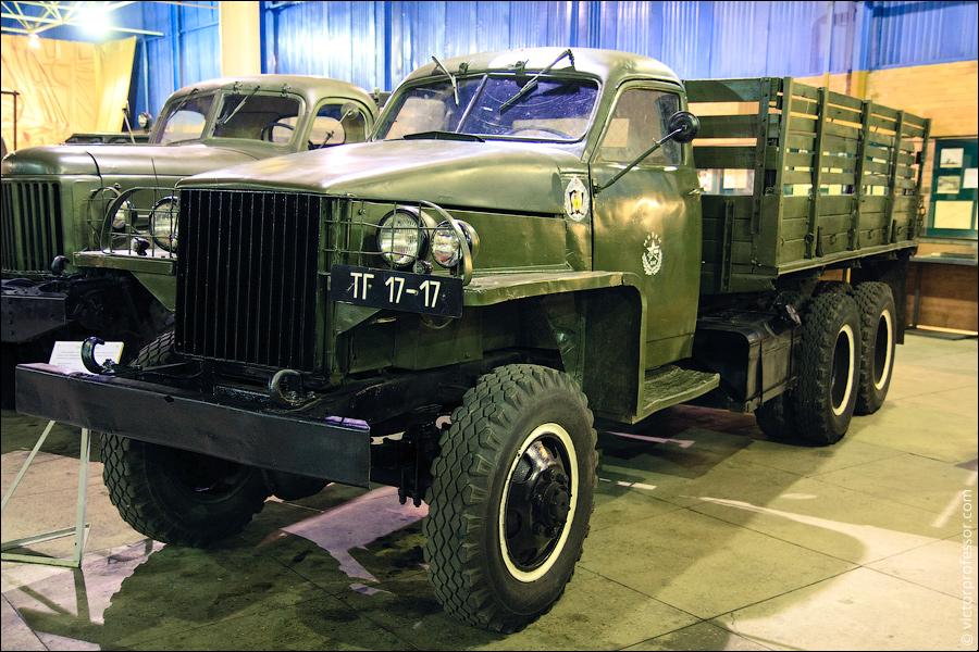 Музей военной техники фото Студебейкер US-6