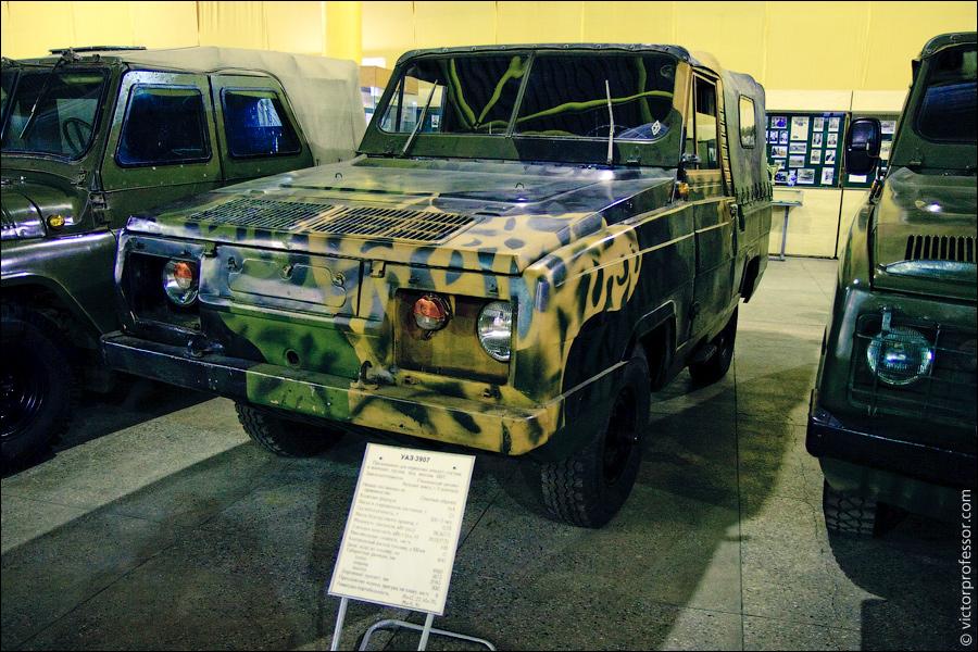 Музей военной техники фото УАЗ-3907