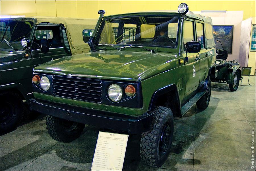 Музей военной техники фото УАЗ-3172