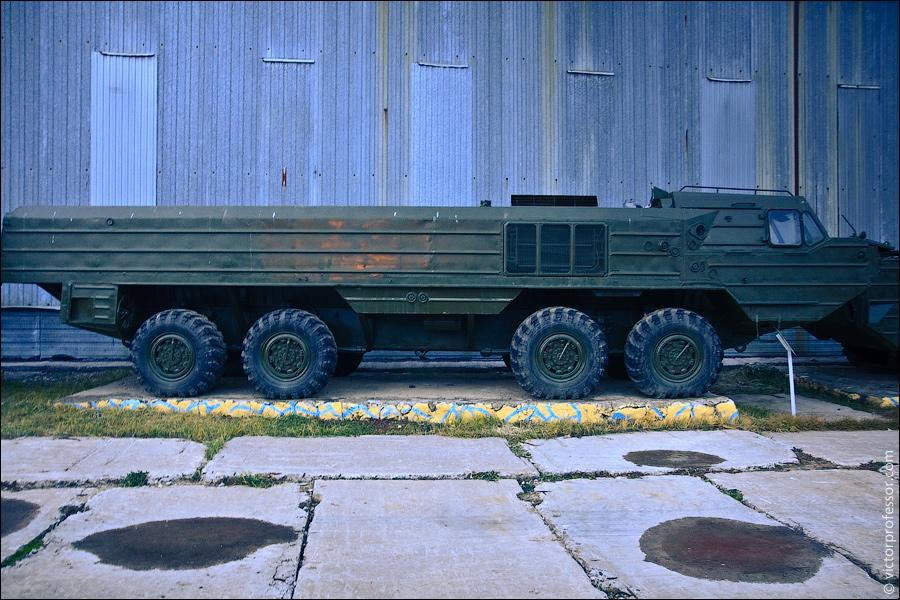 Музей военной техники фото БАЗ-6944