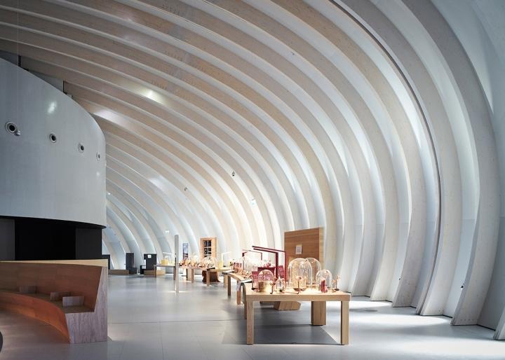 Музей вина: полукруглый зал