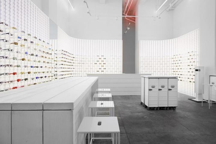 Новый салон оптики Mykita открытый в Нью-Йорке от успешных дизайнеров a3d1efa3e3c0d