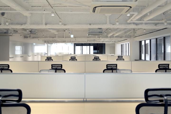 Рабочие зоны сотрудников в штаб-квартире