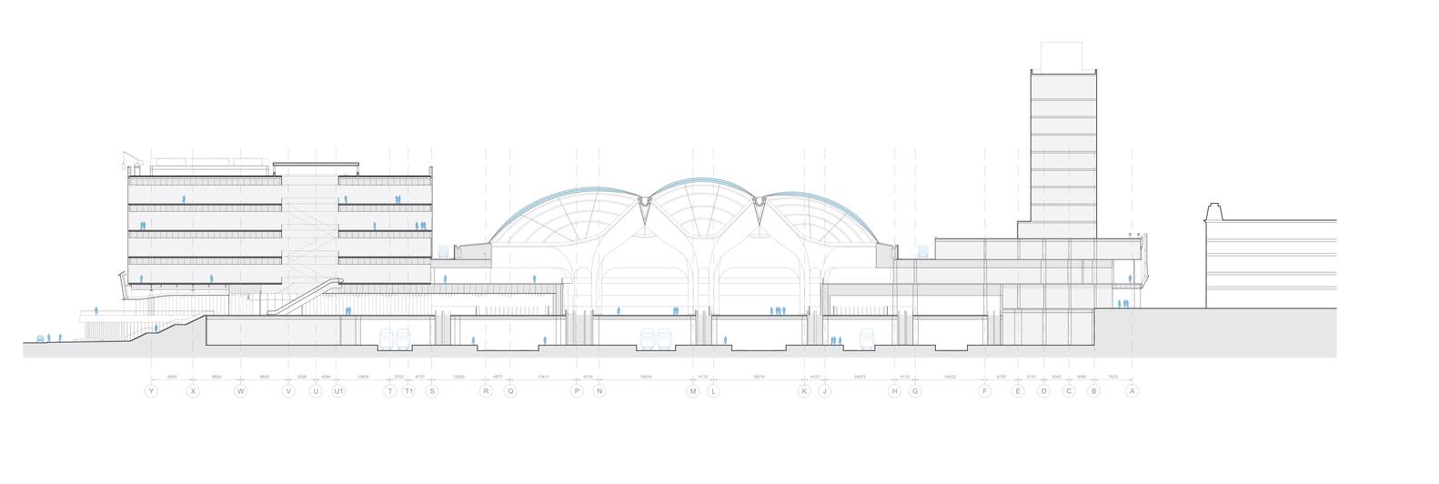 Схема здания вокзала - Фото 1