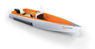 Необычный проект яхты - судно-амфибия The Iguana 29
