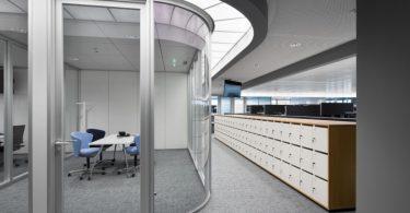 Необычные офисы мира: умный дизайн света в отделении авиакомпании