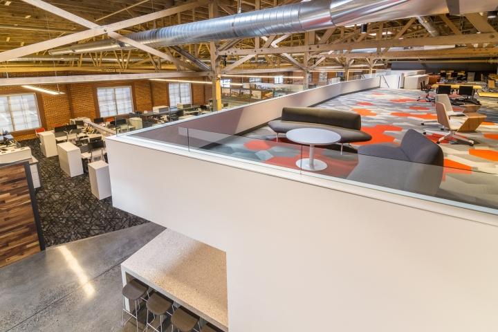 Интерьер и декор офиса: вид сверху