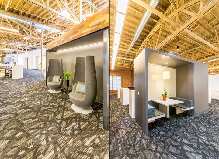 Интерьер и декор офиса: места отдыха
