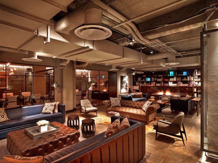 Офис NeueHouse в Нью-Йорке