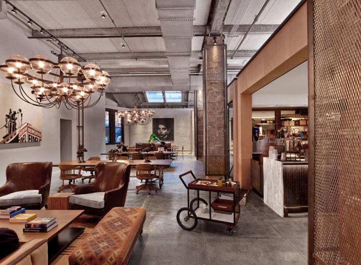 Офис NeueHouse в Нью-Йорке – США