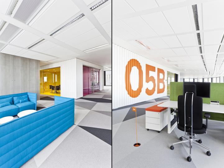 Яркий интерьер и декор офиса