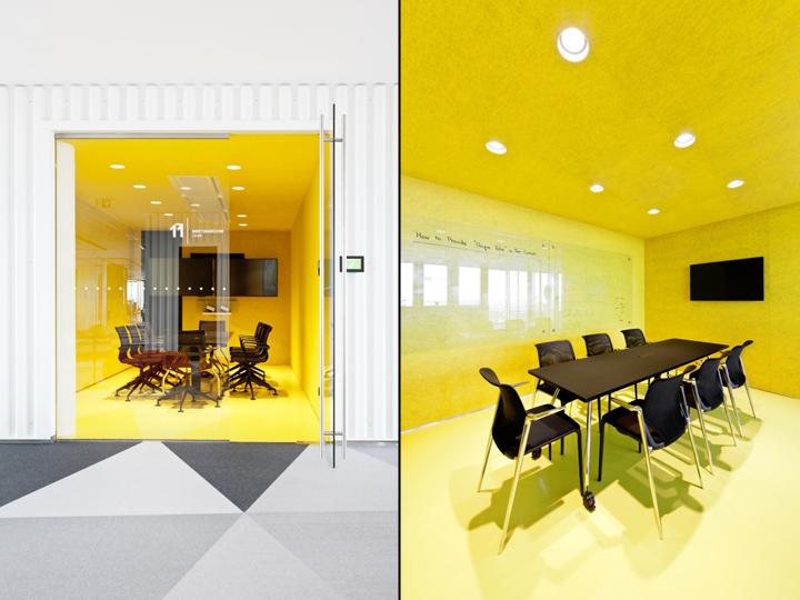 Интересный интерьер и декор офиса: яркий дизайн залов